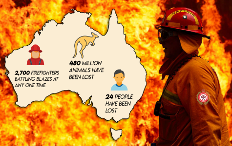 Fires in Australia motivate students to help