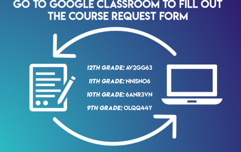 One way for students to access their registration forms is through the counseling google classroom.