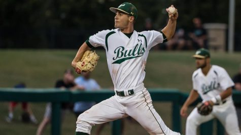 Shane McClanahan pictured in one of many successful games during his time with the University of South Florida.
