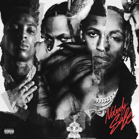 "Official album cover for ""Nobody Safe"" found on genius.com"