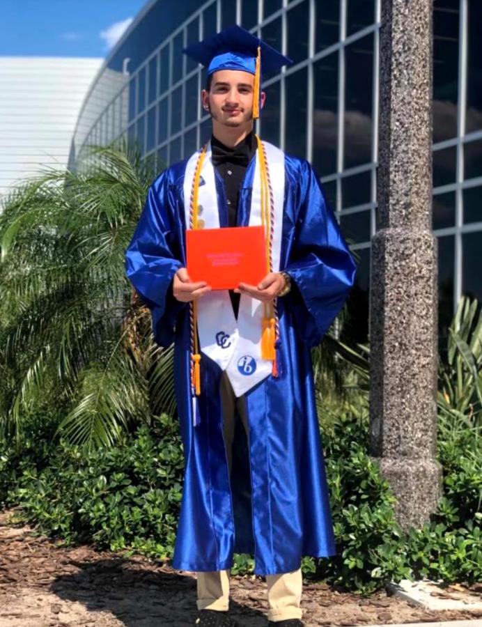 Manuel Espejo, Cape High graduate from the IB class of 2020